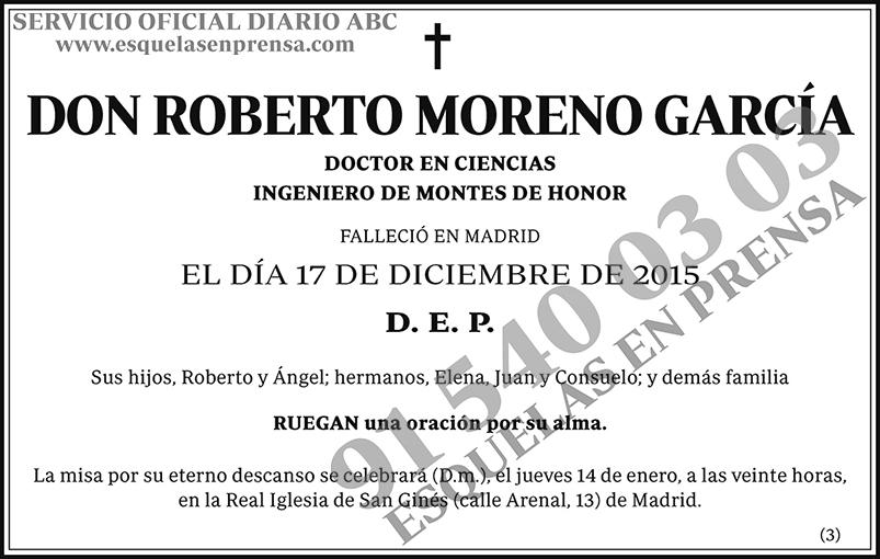 Roberto Moreno García